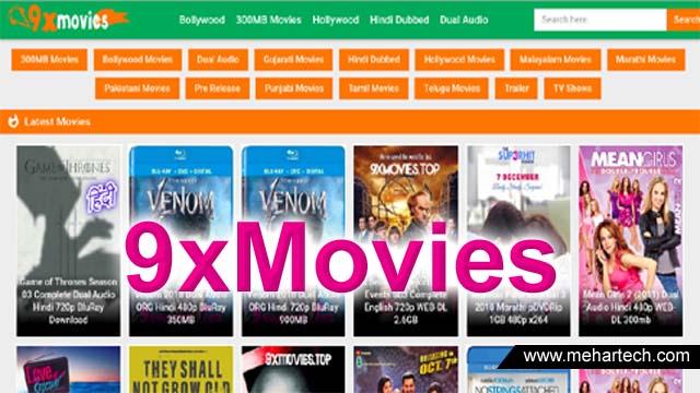 9xMovies - 300MB Bollywood Hindi Dubbed Movies Download